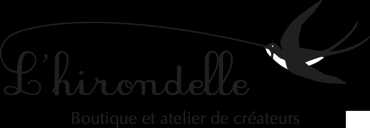 logo de L'Hirondelle - Boutique et atelier de créateurs