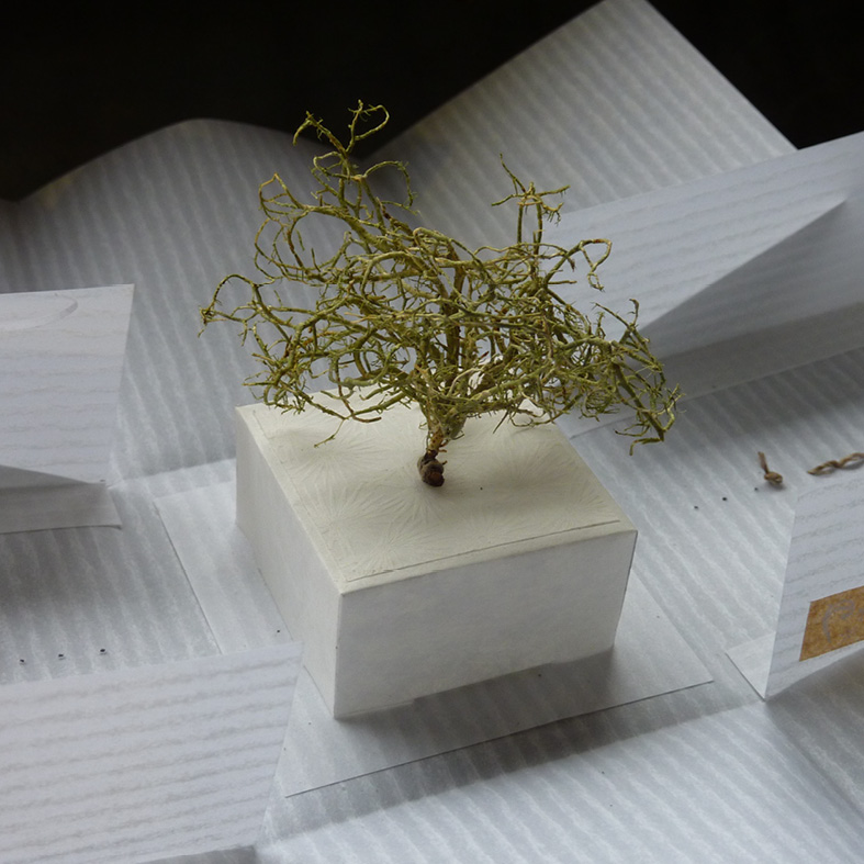 Les créateurs de la boutique : Boîte poétique en papier de La Caro