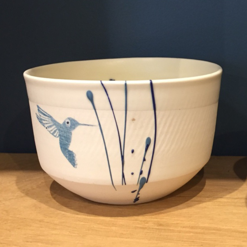 Les créateurs de la boutique : bol en porcelaine de Céline Moissinac